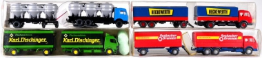 Wiking / Faller (1:87) – LKW-Set Epoche IV/V