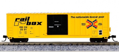 Athearn 10952 – Berwick 50' Box Car der Railbox (RBOX)