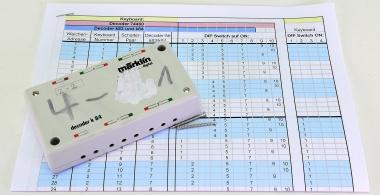 Märklin 6084 – Schalt-Decoder k84 für Dauerströme, MM-Format