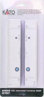 Kato 30-9021 – 53 ft. Intermodal Container-Set der BNSF