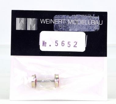 Weinert 5652 - Vorlauf-Radsatz RP25, 9 Speichen, d=9,8mm