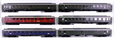 Märklin 43969 – 6-teiliges Schnellzugwagen-Set der DB