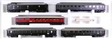 Märklin 42941 – Schnellzugwagen-Set Riviera Express der DB / DSG / FS