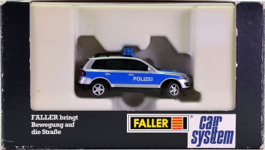 Faller 161543 - Car System VW Touareg Polizei (WIKING) mit Blink-Elektronik