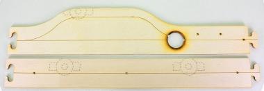 Faller 161930 – Car System, Laser-Street Bushaltestellen-Set