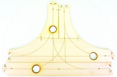 Faller 161941 – Car System, Laser-Street T-Kreuzung, 425 x 312,5 mm