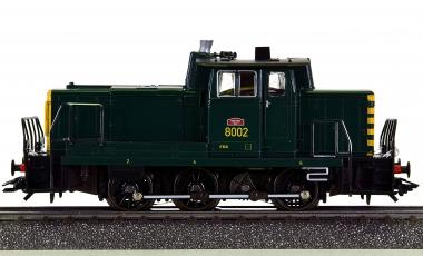 Märklin 3459 – Rangier-Diesellok Serie 80 (V60) der SNCB, digital (Delta)