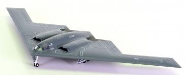 "Herpa Wings 553506 (1:200) – UUSAF Northrop Grumman B-2A ""Spirit"", 509th Bomb Wing"