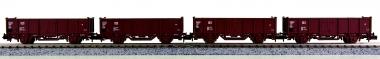 Minitrix 13923 - 4 x offener Güterwagen der DB AG