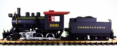 Piko 38205 (G/IIm) - Schlepptender-Dampflok Mini-Mogul der PRR, Rauch