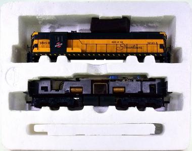 Life-Like 8002 – Diesellok Typ SD7 der North Western, ohne Kupplungen