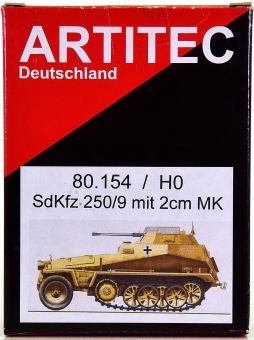 Artitec / Artmaster 80.154 – Bausatz Sonderkraftfahrzeug 250/9 Neu 2 cm MK