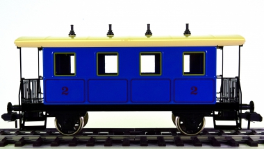 Märklin 5471 (Spur 1) – 2. Klasse Personenwagen der K.Bay.Sts.B.