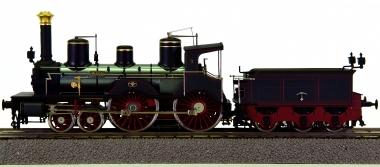 Eisenbahn Canada H0-009/1 - Schlepptender-Dampflok Class B -Wien- der K.W.Sts.E.