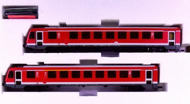 Roco 63013 – 2-tlg. Dieseltriebzug BR 628 der DB AG