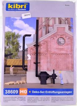 Kibri 38609 (H0) – Bausatz Ausgestaltungs-Set Entlüftung