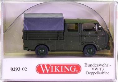 Wiking 029302 (1:87) – VW T3 Doppelkabine Bundeswehr