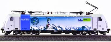 Brawa 43961 (AC) – Elektrolok BR 186 der BLS Cargo -Railpool-, digital (MM)