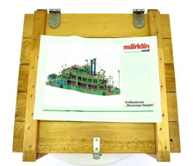 Märklin 1082 – Metall-Großbaukasten Mississippi-Dampfer