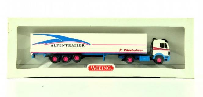 Wiking 51001 (1:87) – Pritschen-Sattelzug Alpentrailer