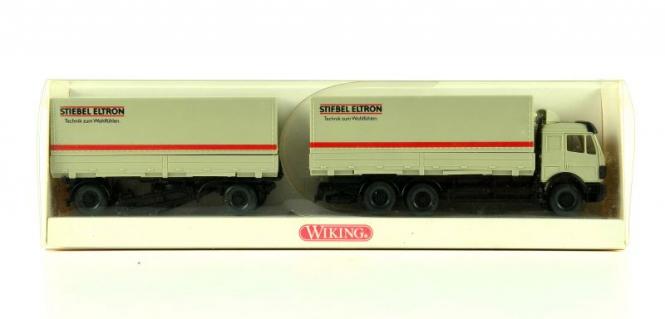 Wiking 5710336 (1:87) – Wechselpritschen Lastzug Stiebel Eltron