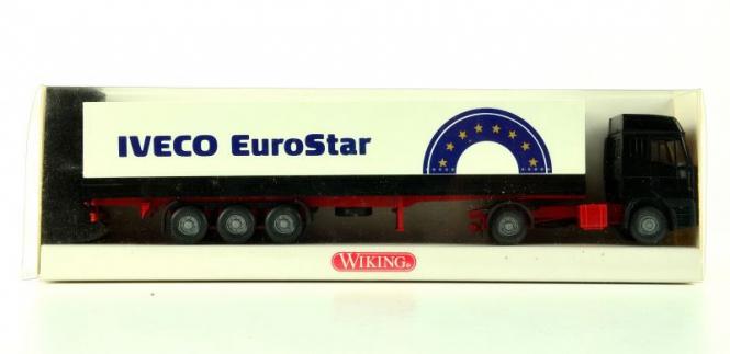 Wiking 5160133 (1:87) – IVECO EuroStar Pritschen Sattelzug