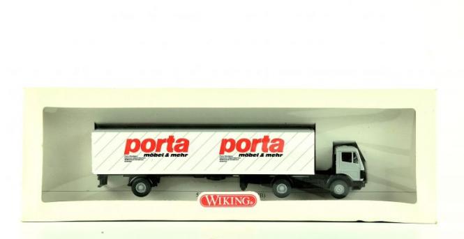 Wiking 54450 (1:87) – MB Koffer Sattelzug porta
