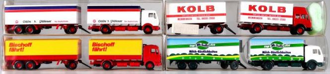 Wiking (1:87) – Koffer-LKW-Set