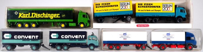 Wiking / Faller (1:87) – LKW-Set