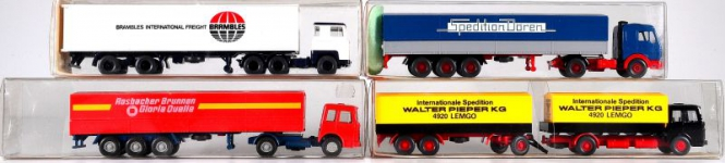 Wiking (1:87) – LKW-Set Epoche IV