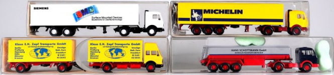 Wiking (1:87) – LKW-Set Epoche IV/V