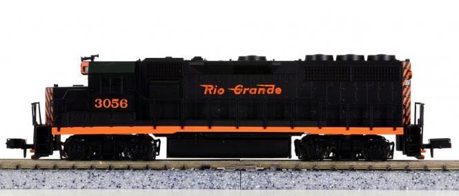Atlas 48523 (N) – Diesellokomotive BR EMD GP-40 der Rio Grande