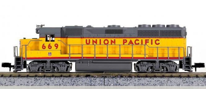 Atlas 48535 – Diesellokomotive BR EMD GP-40 der Union Pacific