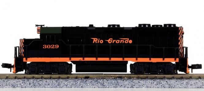 Atlas 4641 (N) – Diesellokomotive BR EMD GP-35 der Rio Grande