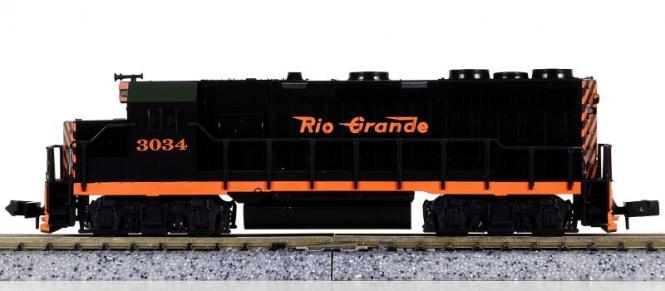 Atlas 4642 (N) – Diesellokomotive BR EMD GP-35 der Rio Grande