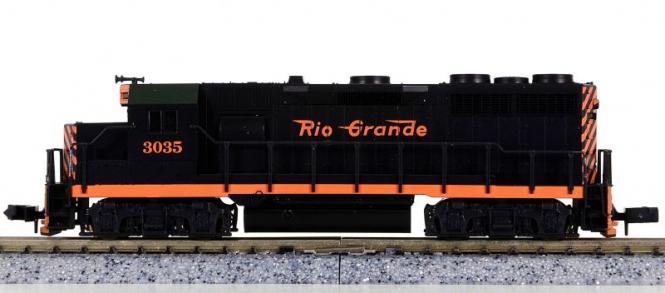 Atlas 4644 (N) – Diesellokomotive BR EMD GP-35 der Rio Grande