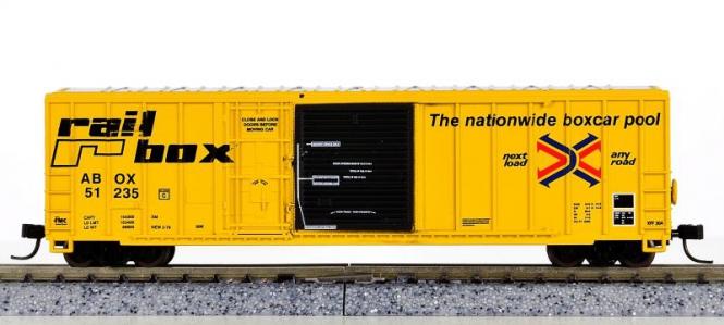Athearn 11147 – 50' Plug & Sliding Door Box Car der Railbox (ABOX)