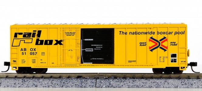 Athearn 11148 – 50' Plug & Sliding Door Box Car der Railbox (ABOX)