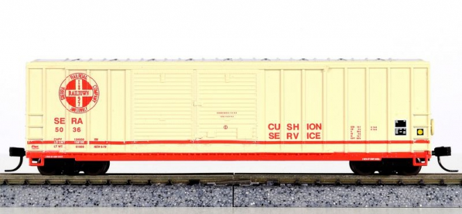 Athearn 11293 – 50' FMC Offset Double Door Box Car der Sierra Railroad