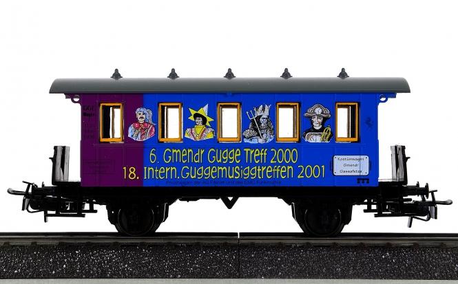Märklin 4107.020 – Personenwagen 6. Gmendr Gugge Treff 2000