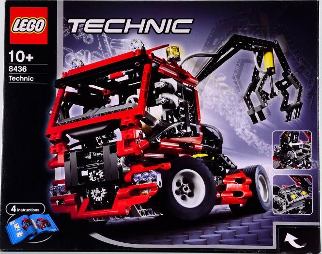 Lego Technic 8436 – Bausatz Truck mit Pneumatik-Kran