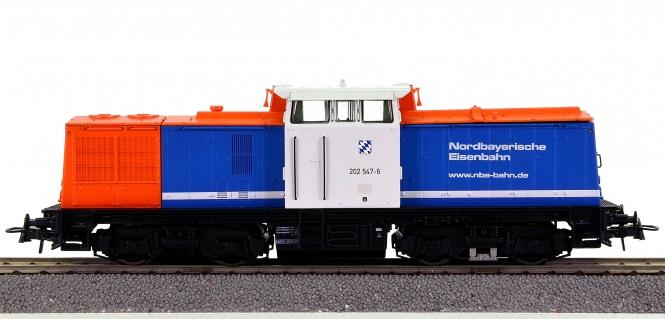 Roco 62814 – Diesellok BR 202 der NBE, digital (DCC)