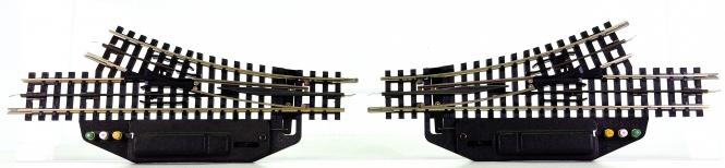 Trix Express – elektrisches Weichepaar