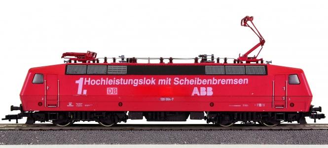 Fleischmann 4351 – Mehrzweck-Elektrolok BR 120 der DB AG, digital / Einzelstück