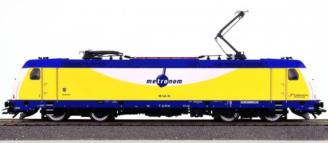 Trix 22634 – Elektrolok BR ME 146 der Metronom, digital (DCC, Sx, MM)