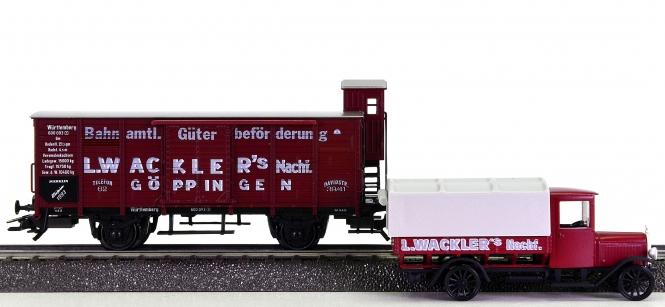 Märklin 84793 - Museumswagen 1993, L. WACKLER's GÖPPINGEN