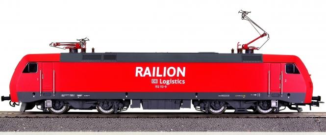Lima HL2036 – Güterzug-Elektrolok BR 152 der DB Railion, digital (DCC, Sx)