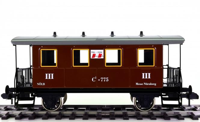 Märklin 54703 (Spur 1) –  3. Klasse Personenwagen Österreich