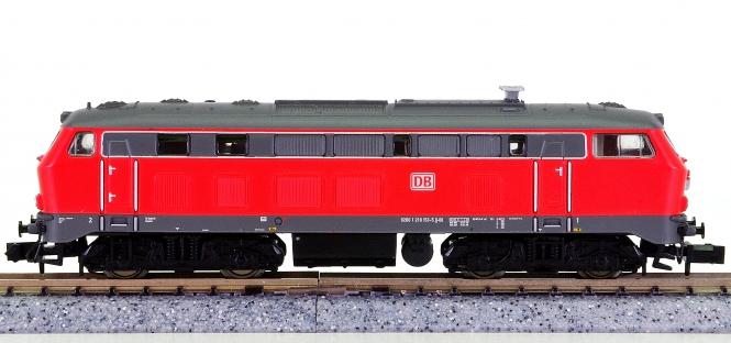 Trix 12393 – Mehrzweck-Diesellok BR 218 der DB AG, digital (DCC, Sx)