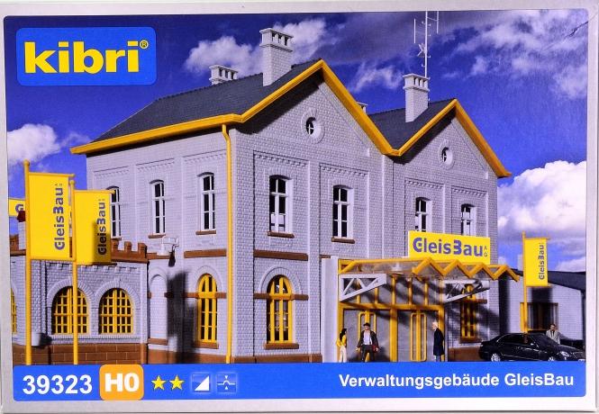 Kibri 39323 – Bausatz Verwaltungsgebäude GleisBau